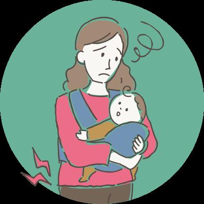 産後の腰痛 母乳の出が気になる 眠りが浅い